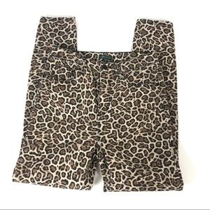 NEW Wild Fable Leopard High Rise Jean